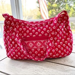 Vera Bradley Nantucket Red Shoulder Bag